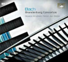 Concerti brandeburghesi - CD Audio di Johann Sebastian Bach,Pieter-Jan Belder,Musica Amphion