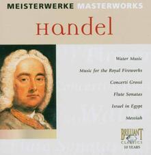 Handel Masterwork - CD Audio di Georg Friedrich Händel
