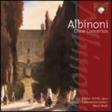 Concerti per oboe - CD Audio di Tomaso Giovanni Albinoni