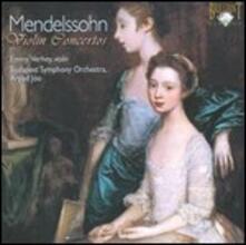 Concerti per violino - CD Audio di Felix Mendelssohn-Bartholdy