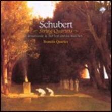 Quartetti per archi - CD Audio di Franz Schubert