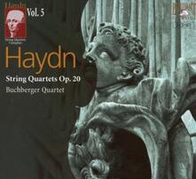 Quartetti per archi vol.5 - CD Audio di Franz Joseph Haydn,Buchberger Quartet