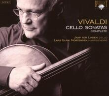 Sonate per violoncello complete - CD Audio di Antonio Vivaldi,Jaap ter Linden,Lars Ulrik Mortensen