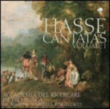 Cantate vol.1 - CD Audio di Johann Adolph Hasse,Gabriella Martellacci,Lia Serafini,Accademia del Ricercare,Pietro Busca