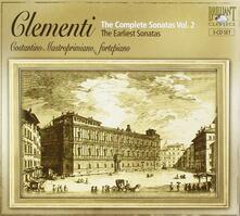 Sonate giovanili - CD Audio di Muzio Clementi,Costantino Mastroprimiano