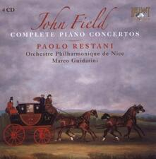 Concerti per pianoforte completi - CD Audio di John Field,Marco Guidarini,Paolo Restani,Orchestra Filarmonica di Nizza
