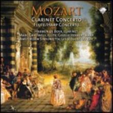 Concerto per clarinetto - Concerto per flauto e arpa - CD Audio di Wolfgang Amadeus Mozart