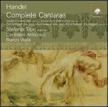 Cantate complete vol.2 - CD Audio di Georg Friedrich Händel,Stephanie True,Contrasto Armonico,Marco Vitale