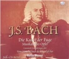 L'arte della fuga (Die Kunst der Fugue) - CD Audio di Johann Sebastian Bach