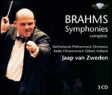 Sinfonie complete - CD Audio di Johannes Brahms,Jaap van Zweden