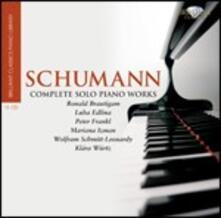 Musica per pianoforte completa - CD Audio di Robert Schumann
