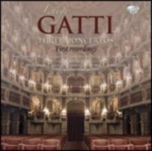 3 Concerti - CD Audio di Luigi Gatti