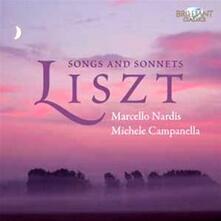 Lieder - Sonetti - CD Audio di Franz Liszt,Michele Campanella,Marcello Nardis