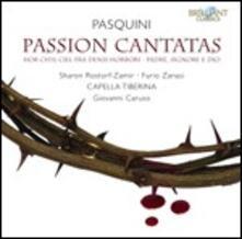 Cantate della Passione - CD Audio di Bernardo Pasquini