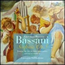 Sonate op.5 - CD Audio di Giovanni Battista Bassani
