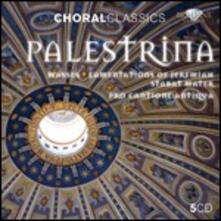 Messe - Lamentazioni di Geremia - Stabat Mater - CD Audio di Giovanni Pierluigi da Palestrina,Pro Cantione Antiqua
