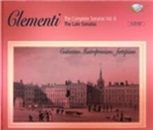 Integrale delle Sonate vol.6 - CD Audio di Muzio Clementi