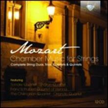 Integrale della musica da camera per archi - CD Audio di Wolfgang Amadeus Mozart