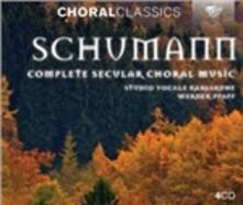 Complete Secular Choral M - CD Audio di Robert Schumann