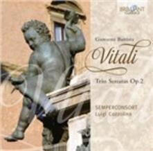 Sonate a tre op.2 - CD Audio di Giovanni Battista Vitali
