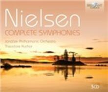 Complete Symphonies - CD Audio di Carl August Nielsen