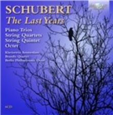 The Last Years - CD Audio di Franz Schubert