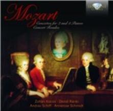 Concertos For 2 & 3 Piano - CD Audio di Wolfgang Amadeus Mozart