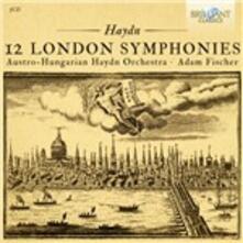 Sinfonie londinesi n.93-104 - CD Audio di Franz Joseph Haydn