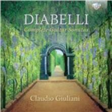 Sonate per Chitarra (Integrale) - CD Audio di Anton Diabelli,Claudio Giuliani