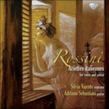 Soirées musicales per voce e chitarra / 12 Ariette per voce e chitarra su melodie di Rossini - CD Audio di Gioachino Rossini,Ferdinando Carulli