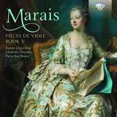 CD Pièces de viole libro V Marin Marais