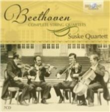 Quartetti per Archi Completi - CD Audio di Ludwig van Beethoven