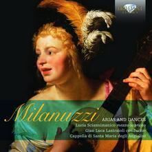 Arie e danze - CD Audio di Carlo Milanuzzi