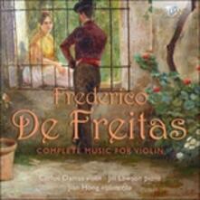 Musica per violino (Integrale) - CD Audio di Frederico de Freitas