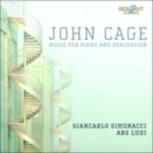Opere per pianoforte e percussioni - CD Audio di John Cage