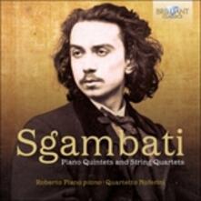 Quartetti - Quintetti con pianoforte - CD Audio di Giovanni Sgambati