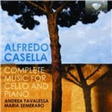 Integrale delle opere per violoncello e pianoforte - CD Audio di Alfredo Casella