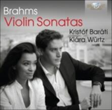 Sonate per Violino e Pianoforte - CD Audio di Johannes Brahms