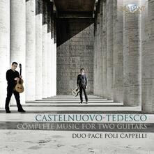 Opere per 2 chitarre - CD Audio di Mario Castelnuovo-Tedesco