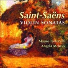Opere per violino e pianoforte - CD Audio di Camille Saint-Saëns