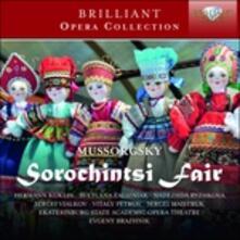 La fiera di Sorochinsky - CD Audio di Modest Petrovich Mussorgsky