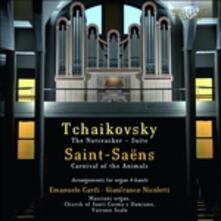 Arrangiamenti per organo a 4 mani - CD Audio di Pyotr Ilyich Tchaikovsky