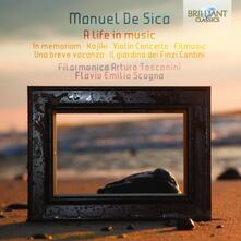 A Life in Music - CD Audio di Manuel De Sica