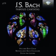 Celebri Cantate Sacre - CD Audio di Johann Sebastian Bach,Pieter Jan Leusink