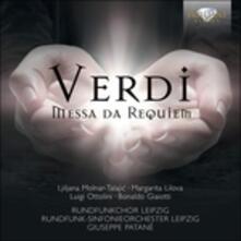 Messa da Requiem - CD Audio di Giuseppe Verdi,Giuseppe Patané