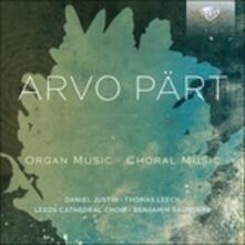 Musica corale - Composizioni per organo - CD Audio di Arvo Pärt