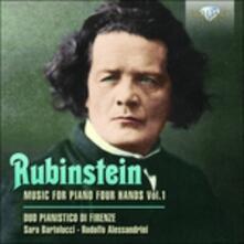 Opere per Pianoforte a 4 Mani vol.1 - CD Audio di Anton Rubinstein