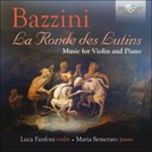 La Ronde des Lutins. Musica per violino - CD Audio di Antonio Bazzini