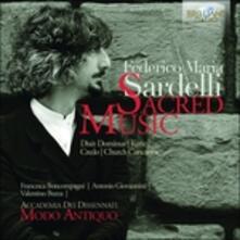 Musica sacra - CD Audio di Federico Maria Sardelli