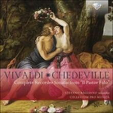 Sonate per flauto - CD Audio di Antonio Vivaldi,Nicolas Chedeville